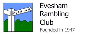 Evesham Rambling Club